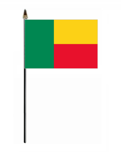 Benin Country Hand Flag - Small.